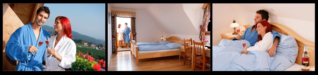 Ruhe und Erholung beim Buschenschank Langmann in Langegg, 5 Zimmer