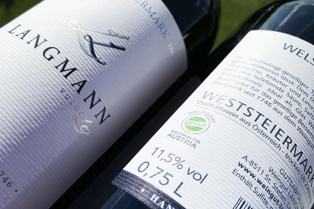 Weingut Langmann zertifizierter Betrieb Austria
